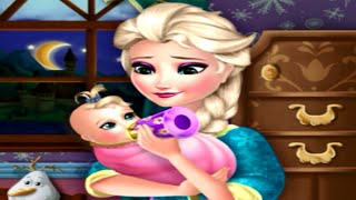 Frozen Baby Feeding Game for Kids Full HD Baby Video