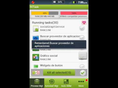 Optimizar Android con Hitask (Recomendado)(Root)
