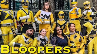 The Yellow Fellows [BLOOPERS] Power Rangers | Super Sentai