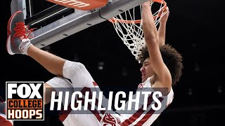 Washington St. knocks off Oregon 72-61 after monster game from Elleby | FOX COLLEGE HOOPS HIGHLIGHTS