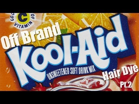 How To Dye Natural Hair With Off Brand Kool-Aid PT.2