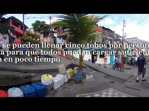 Sin agua en Barrio Píritu. Petare, Caracas