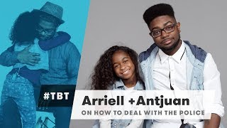 Arriell & Antjuan from Black Parents Explain How to Deal with the Police | #TBT | Cut