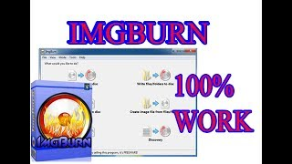 how to burn Img file to cd or dvd with Imgbrun  100% work