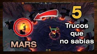 5 Trucos Que no Sabias de Mars ► Counter picks y Combos del Heroe