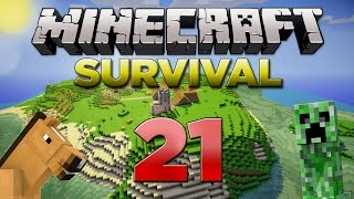 Minecraft Xbox: Survival Lets Play - Part 21 [XBOX 360 EDITION