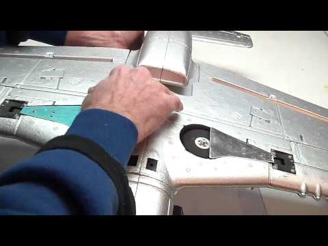 Dynam P-51 Mustang Build Video by Jeff