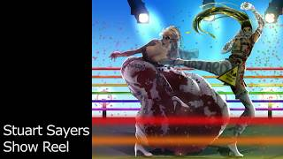 "Stuart Sayers ""Drag Queen Fighting Game"" Show Reel"