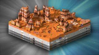 All minecraft Biomes!