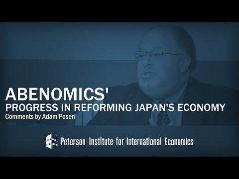 Abenomics' Progress in Reforming Japan's Economy: Comments by Adam Posen