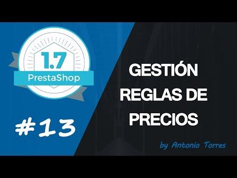Curso PrestaShop 1.7 #13 Gestión de reglas de precios (cupones de descuento)