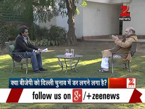 Watch: Amit Shah's exclusive interview with Sudhir Chaudhary