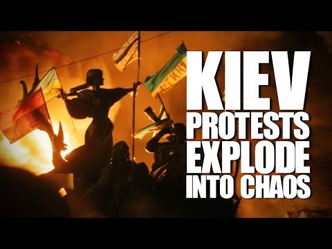 Kiev Protests Turn Violent