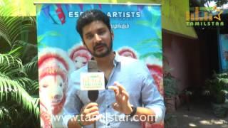 Vishnu At Mapla Singam Movie Team Interview