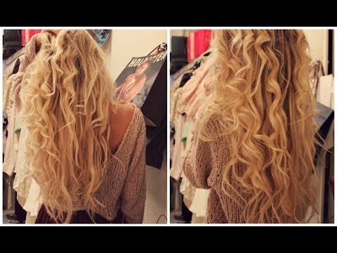 How I curl my hair with Babyliss curling wand