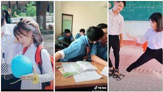 Tik Tok Việt Nam ❤ HỌC SINH đi học lầy lội,hài hước và bá đạo nhất p1