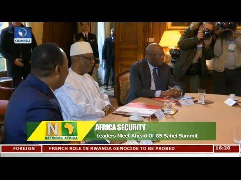 African Leaders Meet Ahead Of G5 Sahel Summit | Network Africa |