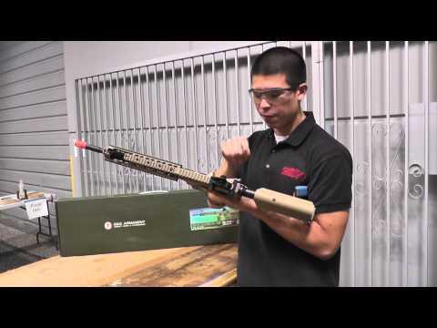 Airsoft GI Uncut - G&G GR15 Raider XL Electric Blow Back Airsoft Gun (Tan/XL)