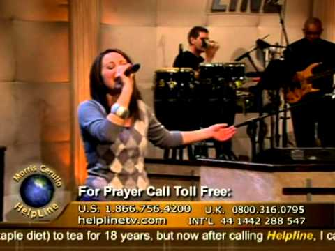Contemporary Christian Musical Artist Britt Nicole -- Live on Helpline TV!
