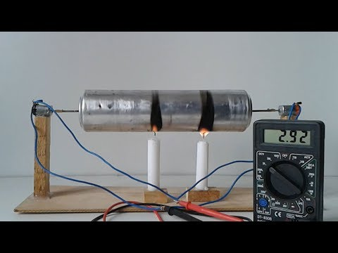 How to make a Steam Engine Generator