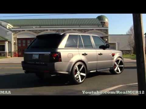 Matte Range Rover Sport On Custom Wheels Katie S Coffee