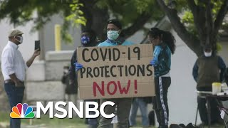 Workplace Coronavirus Outbreaks Not Limited To Meat Plants | Rachel Maddow | MSNBC