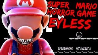 THIS CREEPY SUPER MARIO WORLD ROM HACK WILL DRIVE YOU INSANE - EYELESS [Mario World Mod]