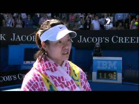Li Na Australian Open post match interview 27th January 2011