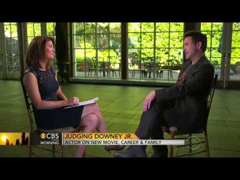 Robert Downey jr at CBS This morning - 09/10/2014