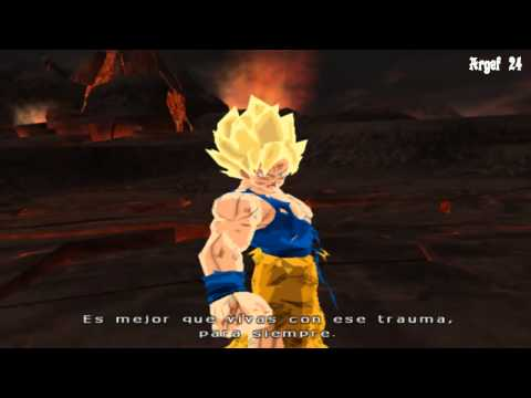 Dragon Ball Z Budokai Tenkaichi 3 Version Latino ( Goku se transforma en super sayayin )