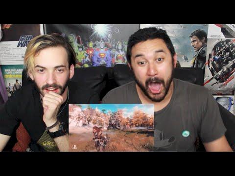 HORIZON: ZERO DAWN Gameplay Trailer - E3 2015 REACTION & REVIEW!!!