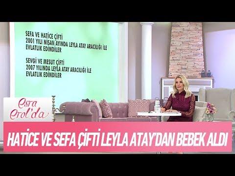 Leyla Atay'dan bebek almış aileleri tanıyan seyirci canlı yayında! - Esra Erol'da 17 Kasım 2017