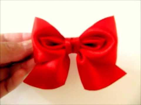 Moños en cintas para el cabello diseño ojos de baby búho