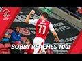 Bobby Grant Reaches 100 Appearances! | Milestone