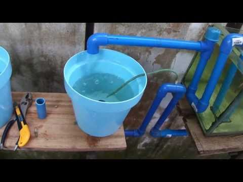 U Siphon in Aquaponics