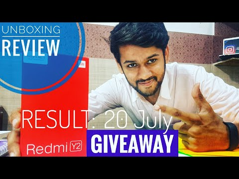 Redmi Y2 Quick Unboxing,Review,Giveaway.Xiaomi New Mi ui 9.5 based Smartphone,Redmi S2