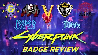 Badge Review of the Confirmed Gangs of Cyberpunk 2077