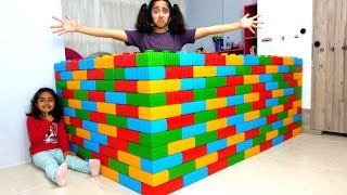 Ablama Şaka Yaptık My Sister Wall Joke fun kid video