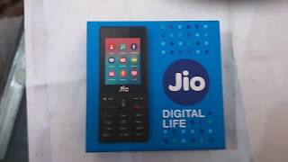 Jio phone unboxing & review