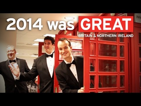 2014 was GREAT! British Consulate New York Holiday Video