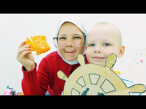 Смешное видео для детей. Бабушка в круизе.