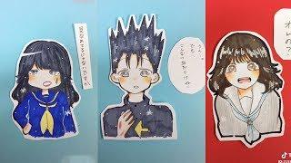 ???????? ???????? - Tik Tok Paint Anime #6