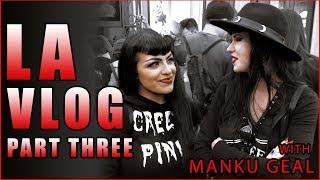 Halloween Horror Nights at Universal Studios With Manku Geal - USA Vlog 3   Avelina De Moray