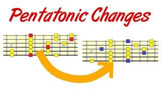 Changing Pentatonic Scale in Minor Keys - What Happens?
