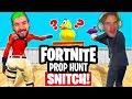 Fortnite Prop Hunt Jacksepiceye BETRAYS me, Hacked (EPIC) $10 000 CHALLENGE thumbnail