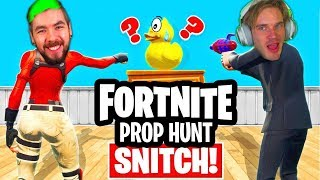 Fortnite Prop Hunt Jacksepiceye BETRAYS me, Hacked (EPIC) $10 000 CHALLENGE