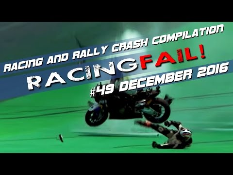 Racing and Rally Crash Compilation Week 49 December 2016