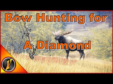 Bow Hunting for a Diamond #2   theHunter: Call of the Wild 2017