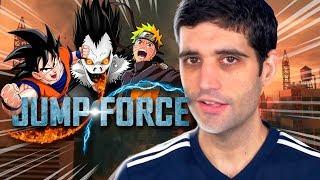 NARUTO vs GOKU, joguei JUMP FORCE, o que eu achei, decepcionou?