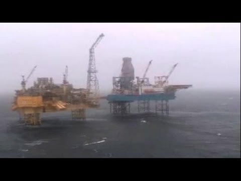 Flare goes out on North Sea platform hit by gas leak